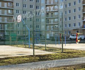 ЖК «Кокошкино»: Спортплощадка во дворе.17.04.2016