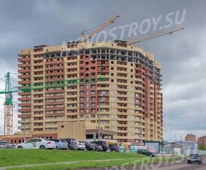 ЖК «Дом на улице Кирова»: Северный фасад дома