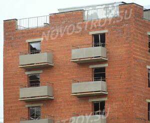 ЖК «Ленсоветовский»: фасад корпуса 8.