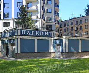 ЖК «Усадьба Воронцовых»: паркинг  на придомовой территории.