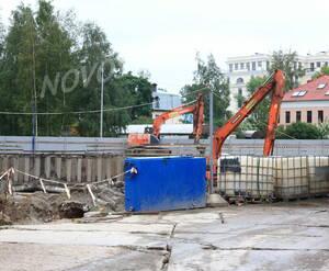 ЖК «Verona»: строительная площадка.