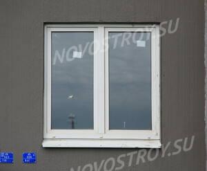 ЖК «в посёлке Тельмана» (мкр. 5): окно 1-го корпуса.