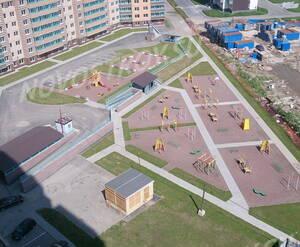 ЖК «Весна»: площадка перед корпусом 6