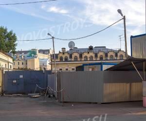 МФК «Резиденция на Покровском бульваре»: С угла Казарменного переулка