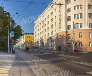 МФК «Резиденция на Покровском бульваре»: Перекрёсток улицы Воронцово Поле и Покровского бульвара, вид в сторону Резиденции