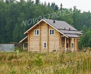 Поселок «Шишкин»: Один из построенных коттеджей.