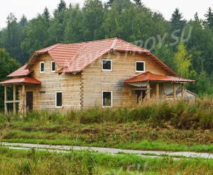 Поселок «Шишкин»: Строящийся коттедж.