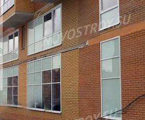 ЖК «Прима Парк»: фрагмент фасада корпуса 23
