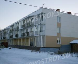 Ход строительства ЖК «Кирккоярви» (10.12.2016)