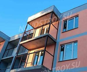Малоэтажный ЖК «Красавица»: ход строительства 2 очереди из группы Вконтакте