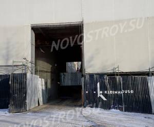 МФК «Kleinhouse»: Проезд на строительство.