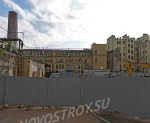 ЖК «На Малой Разночинной»: территория до начала строительных работ