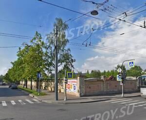 Жилой комплекс на 24-й линии В.О., 25: вид на участок до начала строительства