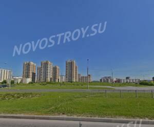 ЖК «МореОкеан» (вид на участок на улице Оптиков до начала строительства)