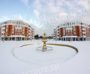 ЖК «Усадьба Суханово»: фонтан на территории комплекса