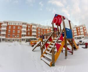 ЖК «Усадьба Суханово»: детская площадка на территории комплекса