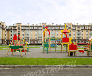 ЖК «Пушгород»: детская площадка