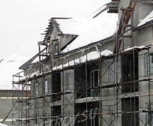 Малоэтажный ЖК «Метелица»: фасадные работы по 2 корпусу
