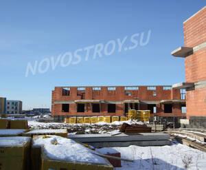 Малоэтажный ЖК «Город Детства»: ход строительства корпуса 4 из группы Вконтакте