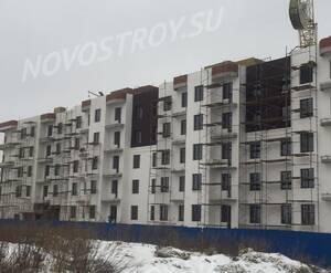 Малоэтажный ЖК «Петергоф Парк»: ход строительства корпуса 2.7