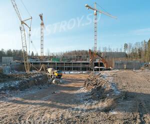 ЖК «Ломоносовъ» (Петродворцовый): ход строительства
