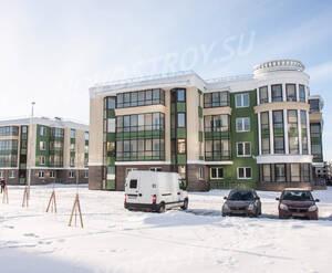 Малоэтажный ЖК «Золотые купола»: ход строительства корпуса 2-3 из группы Вконтакте