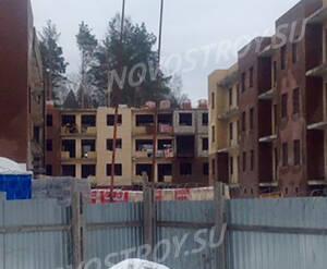 Малоэтажный ЖК «Черничная поляна»: ход строительства 2 очереди из группы Вконтакте