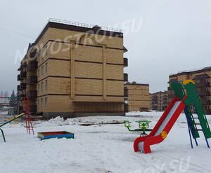 ЖК «Дружный»: детская площадка на территории (фото из группы «Вконтакте»)