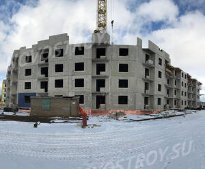 Малоэтажный ЖК «Чудеса света»: ход строительства корпуса 7