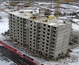 ЖК «Новая Охта. На речке»: ход строительства корпуса 1
