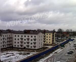 Малоэтажный ЖК «Щегловская усадьба»: ход строительства дома 5