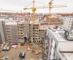 ЖК «Skandi Klubb»: ход строительства корпуса 28