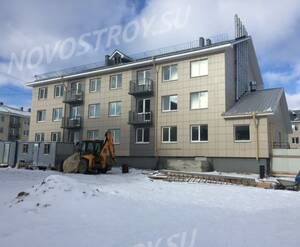 Малоэтажный ЖК «Солнечный квартет»: ход строительства 8 очереди, корпус 4