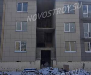 Малоэтажный ЖК «Солнечный квартет»: ход строительства 12 очереди, корпус 8