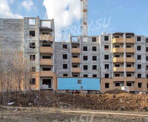 ЖК «Дом на улице Спирина»: вид со стороны школы № 17