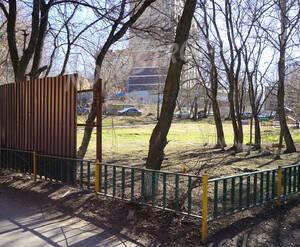 ЖК «МитиноСити»: место застройки с северной стороны.