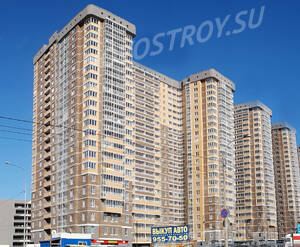 ЖК «Екатерининский»: ход строительства корпуса 1,2,3