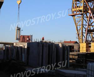 Малоэтажный ЖК «Финский городок Юттери»: ход строительства корпуса 10 из группы Вконтакте