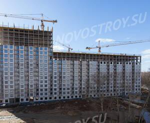 ЖК «Одинцово-1»: ход строительства корпуса 1.12