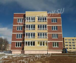 Малоэтажный ЖК «Малая Истра»: ход строительства дома 1 (фото из группы «Вконтакте»)