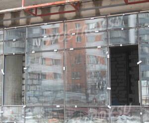 ЖК «Ленинградский»: фрагмент фасада корпуса 2