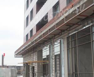 ЖК «Ленинградский»: фасадные работы в корпусе 3