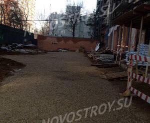 ЖК «Вересаева, 11»: придомовая территория
