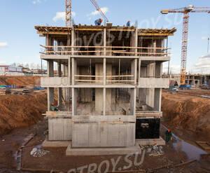 ЖК «Ильинские луга»: ход строительства корпуса 38