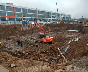 ЖК «Скандинавия»: ход строительства корпуса 3