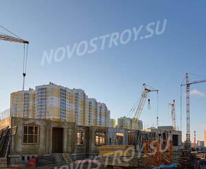 ЖК «Новая Охта. На речке»: ход строительства корпуса 3