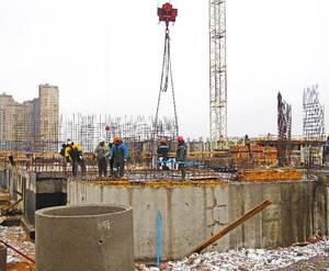 ЖК «Энфилд»: ход строительства дома 1
