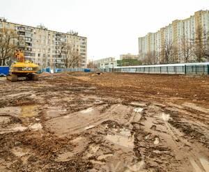ЖК «Дом в Кусково»: расчистка строительной площадки