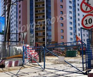 ЖК «Яуза парк»: строительная площадка