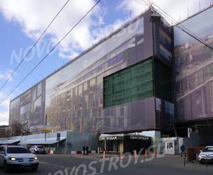 МФК «Loftec»: комплекс с южной стороны